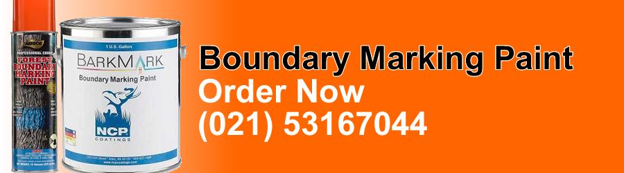 Boundary Marking Paint