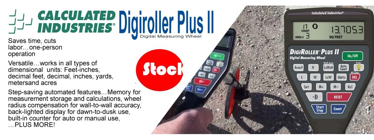 Calculated Industries DigiRoller Plus II Digital Measuring Wheel