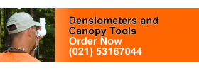 Densiometers and Canopy Tools