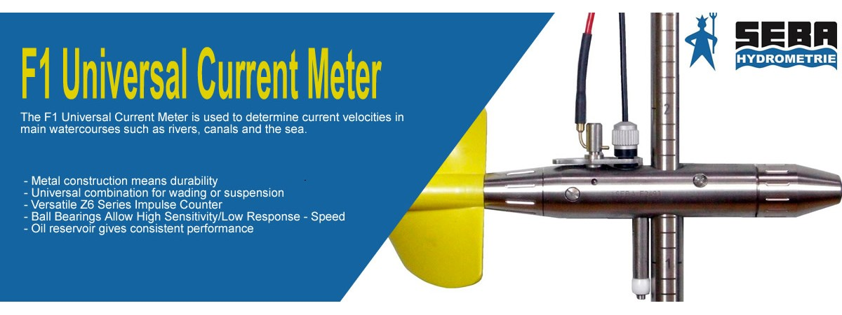 SEBA Hydrometrie F1 Universal Current Meter