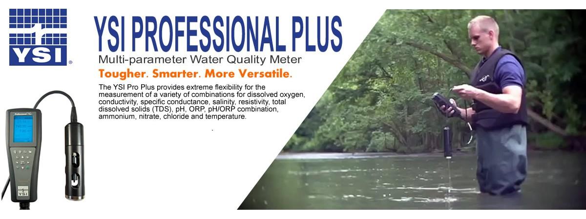 YSI Professional Plus Multi-Parameter Water Quality Meter