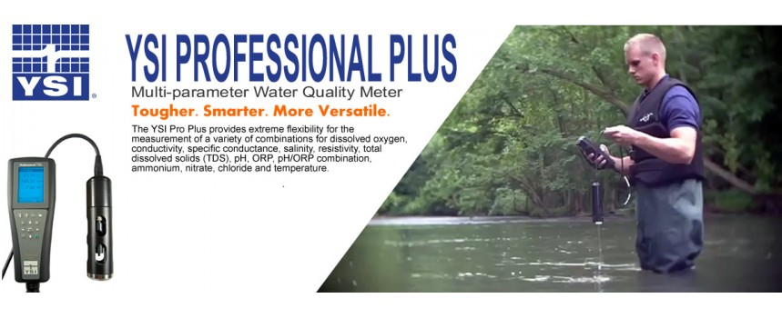 YSI Professional Plus Multi-Parameter Water Quality Meter