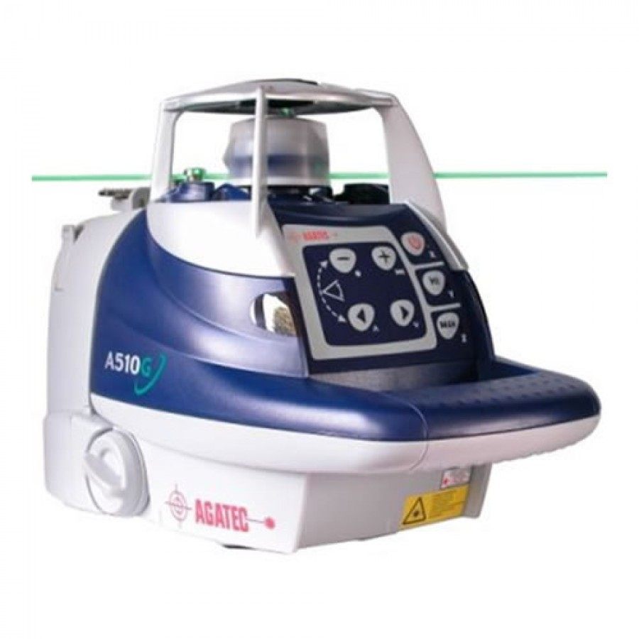 AGATEC A510G Green Beam Rotary Laser Level