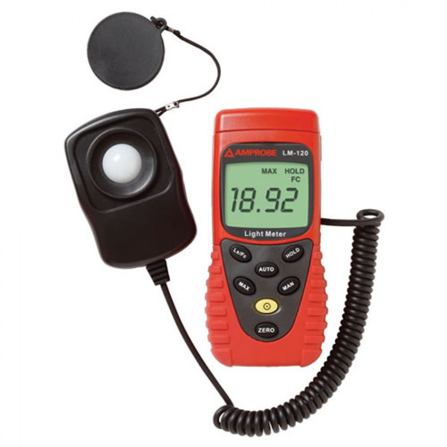 Amprobe LM-120 Light Meter with Auto Ranging