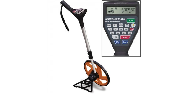 Calculated Industries 6425 DigiRoller Plus II Digital Measuring Wheel