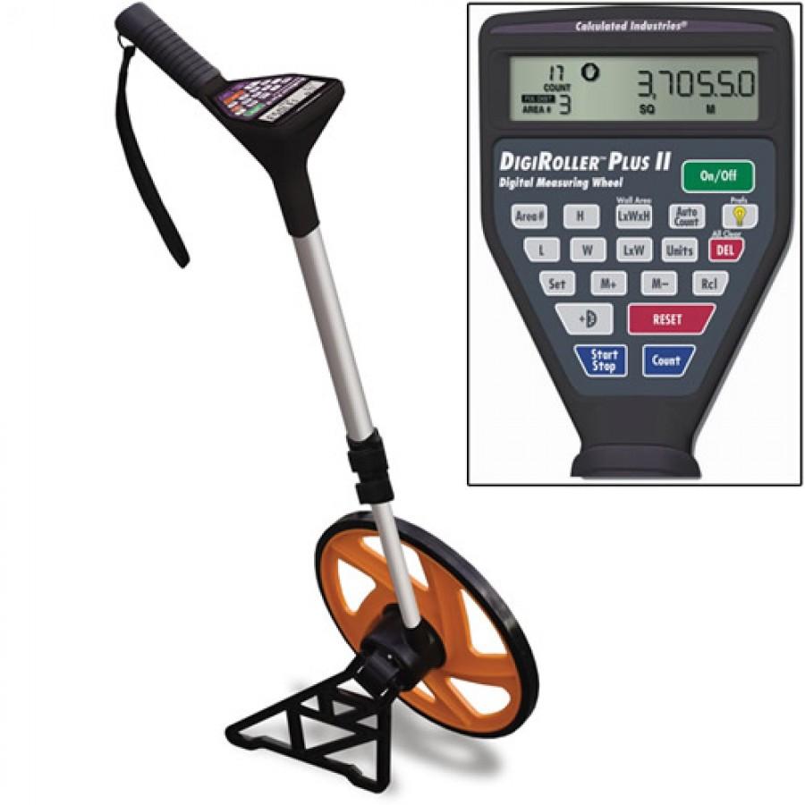 Calculated Industries 6425 DigiRoller Plus II Digital Measuring Wheel
