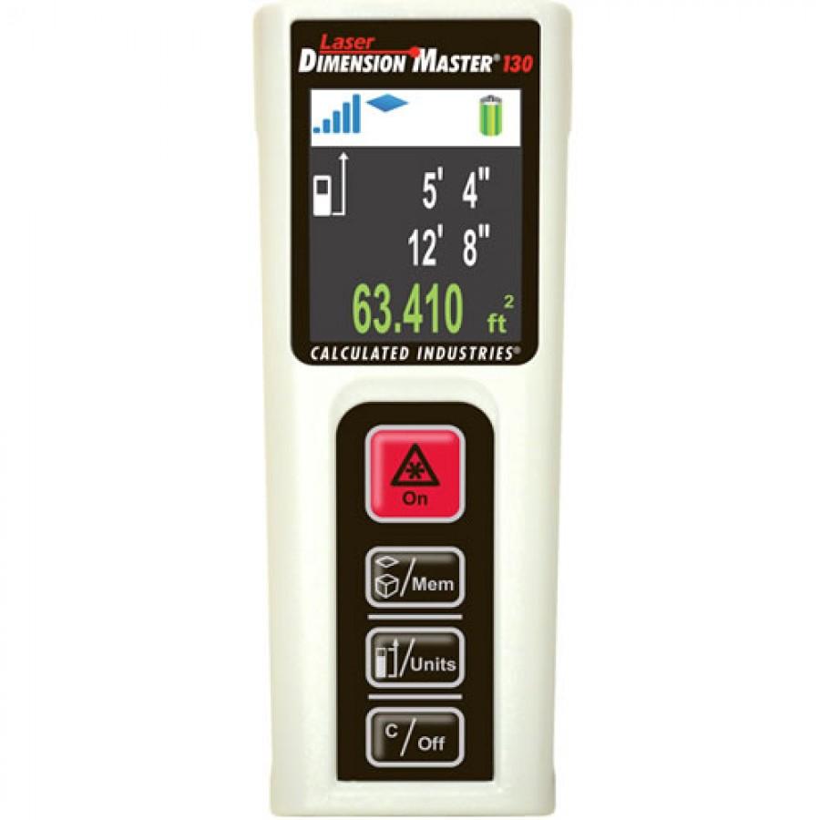 Laser Dimension Master 130 Laser Distance Measure
