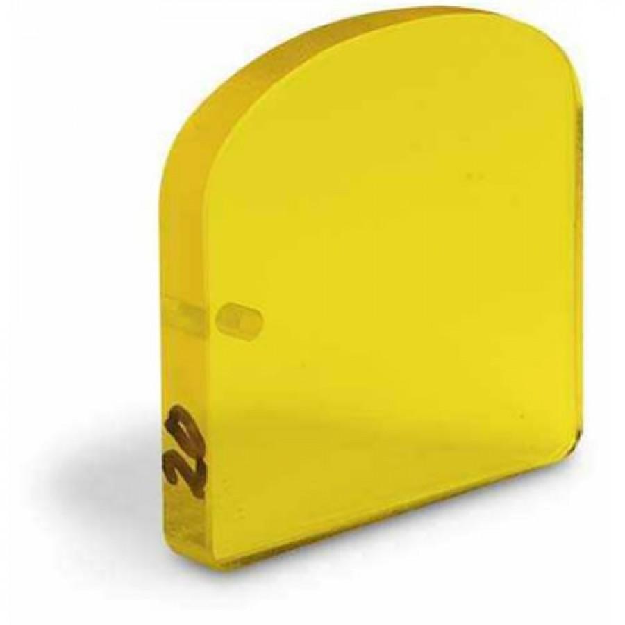 Cruice Master Custom Shape Cruising Prisms, 10 BAF Amber