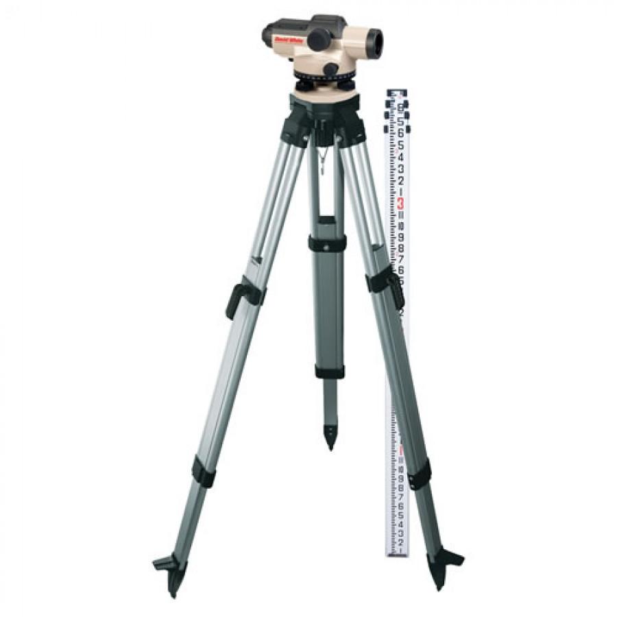 David White AL8-26-1C-KIT Automatic Optical Level Kit, 8ths