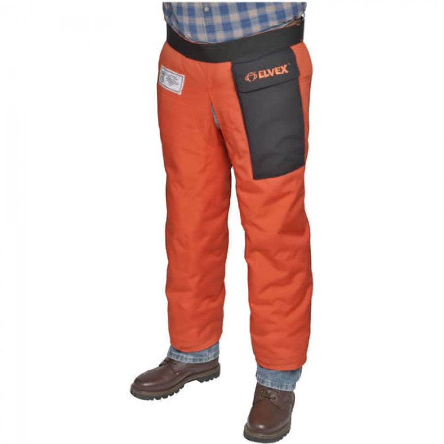 Elvex JE-9133Z ProChapsZ Chain Saw Chaps, 33 Inch Long