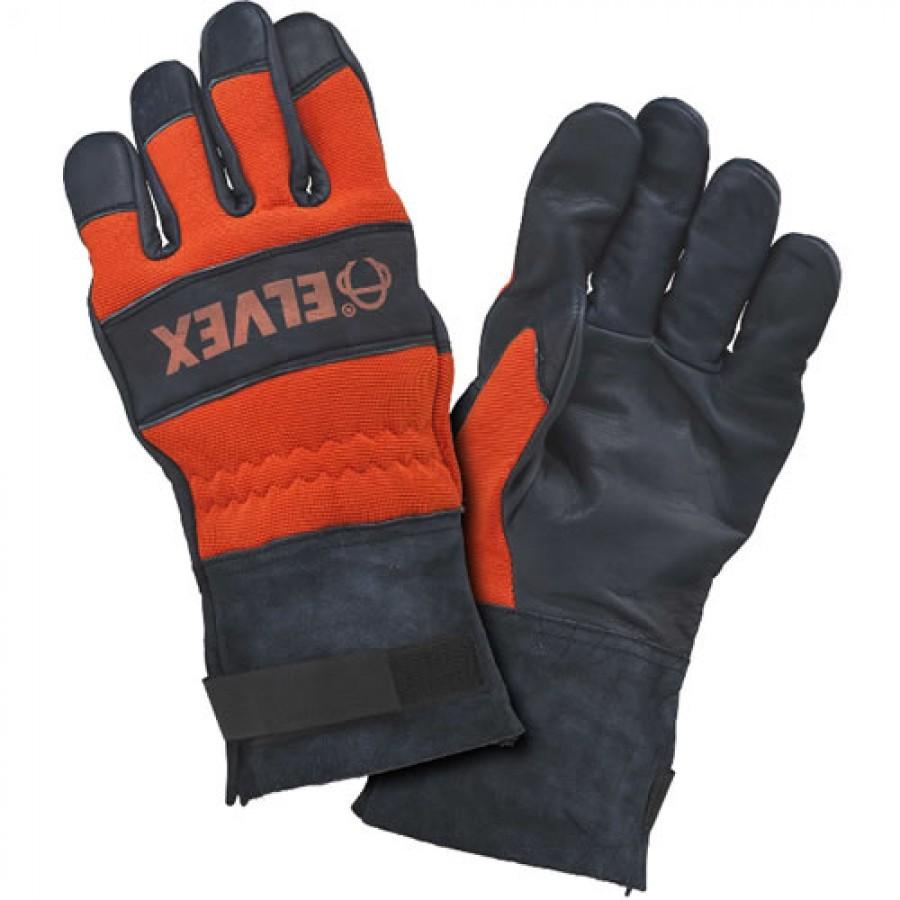 Elvex JEGLV-50-MED ProGloves™ Gauntlet Cuff Chain Saw Glove, Medium