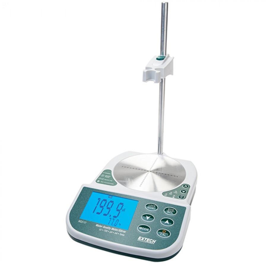 Extech WQ510 EC/TDS/pH/mV/Temp. Benchtop Water Quality Meter/Stirrer
