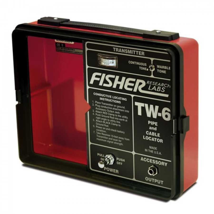 Fisher Tw 6 Pipe Amp Cable Locator Jual Harga Price