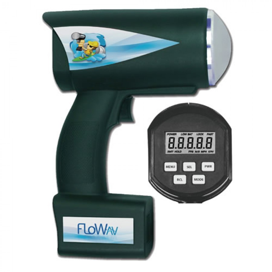 FloWav PHASER Model V1000 Portable Velocity Meter