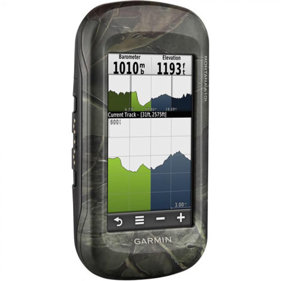 Garmin MONTANA 610t Camo Handheld GPS Receivers