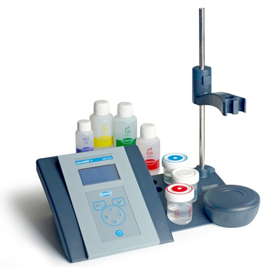 HACH sensION+ MM340 (LPV2200.97.0002) Multi-Parameter Benchtop Meter