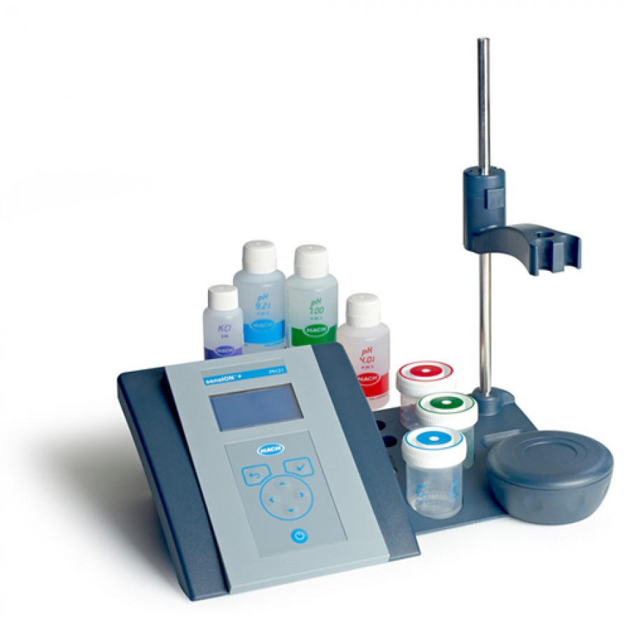 HACH sensION+ PH31 (LPV2100.97.0002) Advanced GLP Benchtop pH & ORP Meter