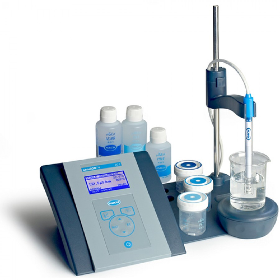 HACH ssensION+ EC7 (LPV3070.97.0002) Lab conductivity Benchtop Meter Kit with 5070 Conductivity Cell