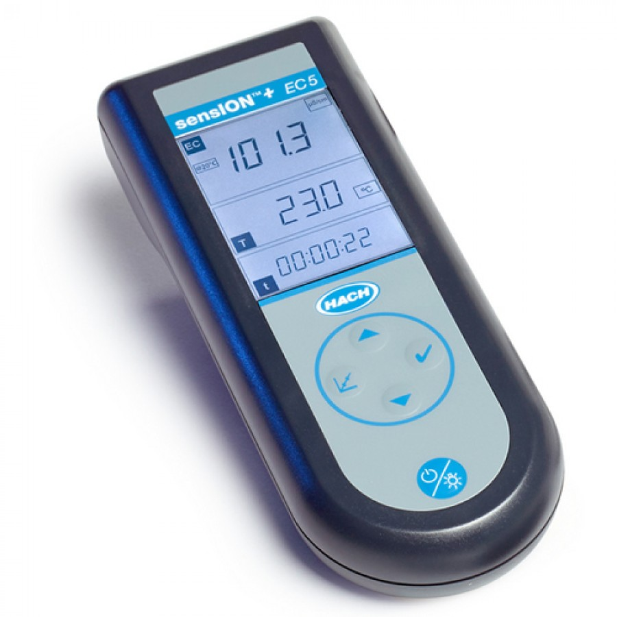 HACH sensION+ EC5  (LPV3500.97.0002) Portable Conductivity Meter