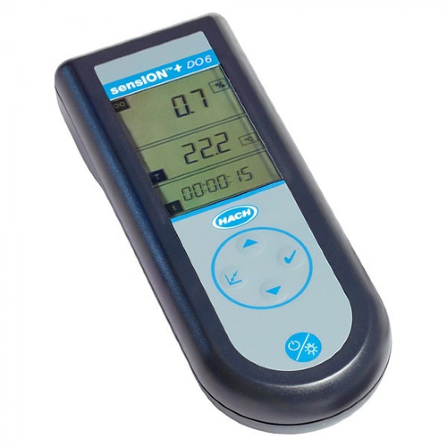 HACH sensION+ DO6 (LPV4500.97.0002) Portable Dissolved Oxygen Meter
