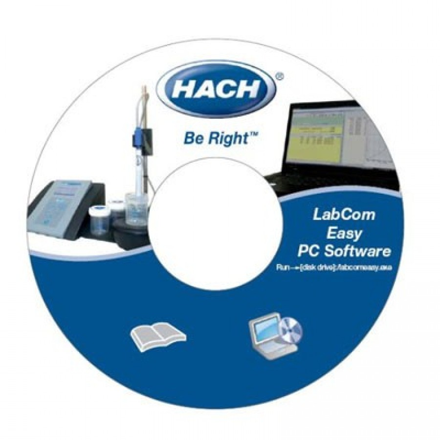 Hach LZW8997.99 LabCom Easy Software for sensION+ GLP