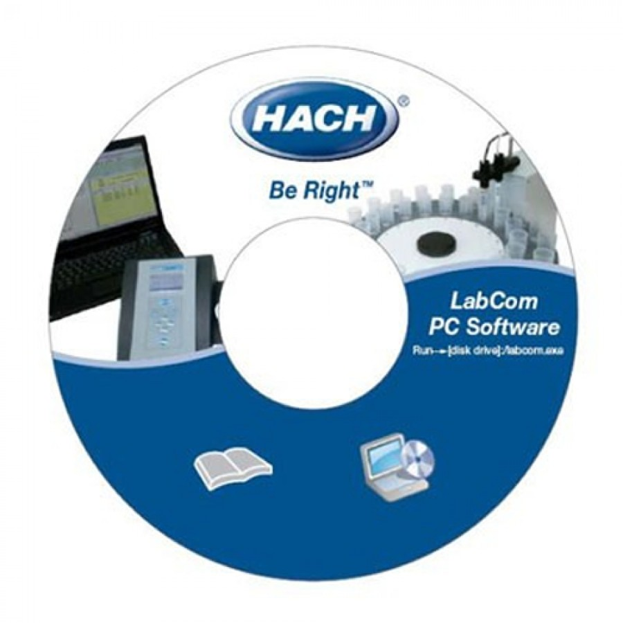HACH LZW8999.99 LabCom Software For sensION+ GLP