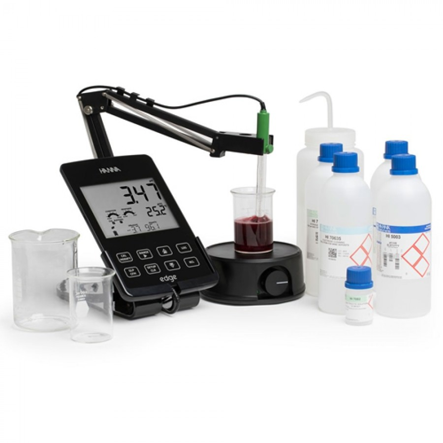 HANNA HI2020W - edge Multiparameter pH Meter Kit