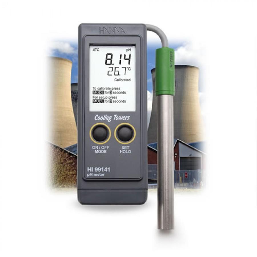 Hanna Ph Meter : Hanna hi boiler and cooling tower ph portable meter