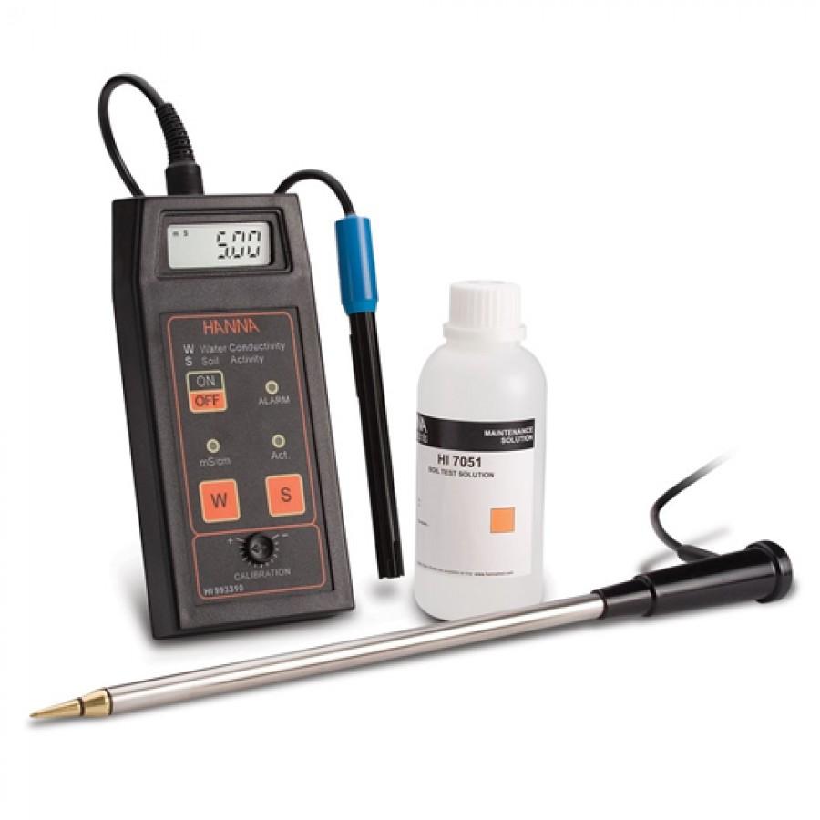 HANNA HI993310 Direct Soil Activity and Solution Conductivity Measurement Kit