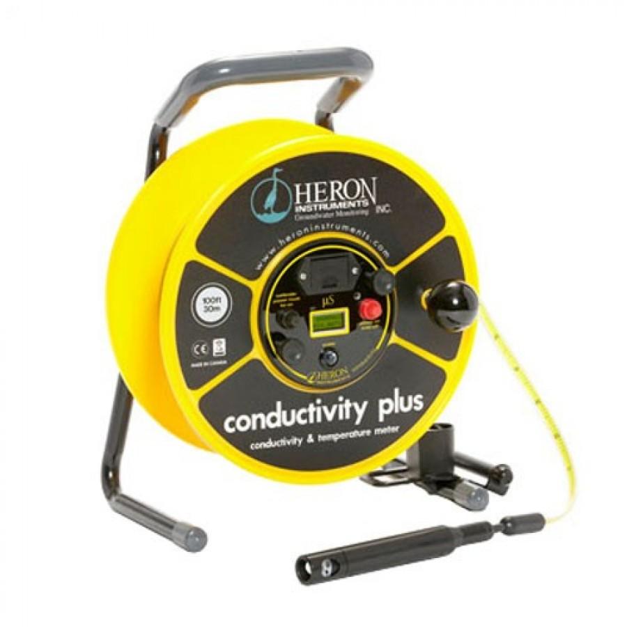 Heron Conductivity Plus Level and Temperature Meter, 100m