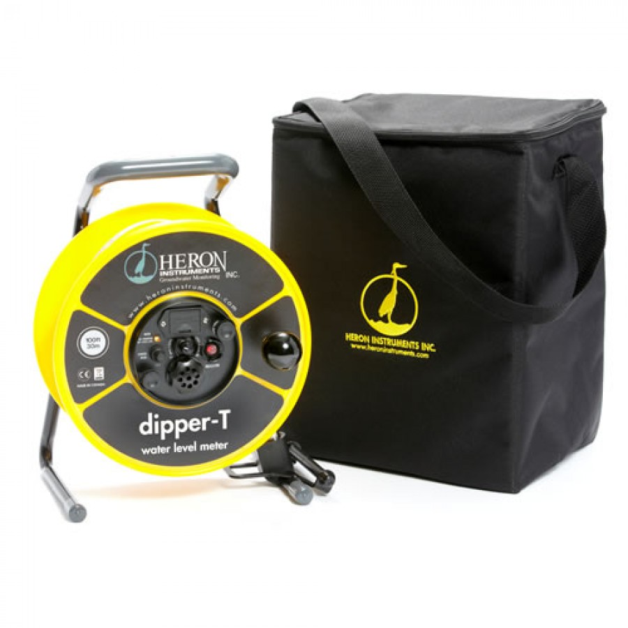 Heron Dipper T Water Level Meter With 5 8 Quot Probe 200m