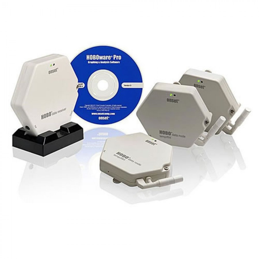 Onset KIT-ZW-TRH HOBO Wireless Temperature/Relative Humidity Monitoring Kit