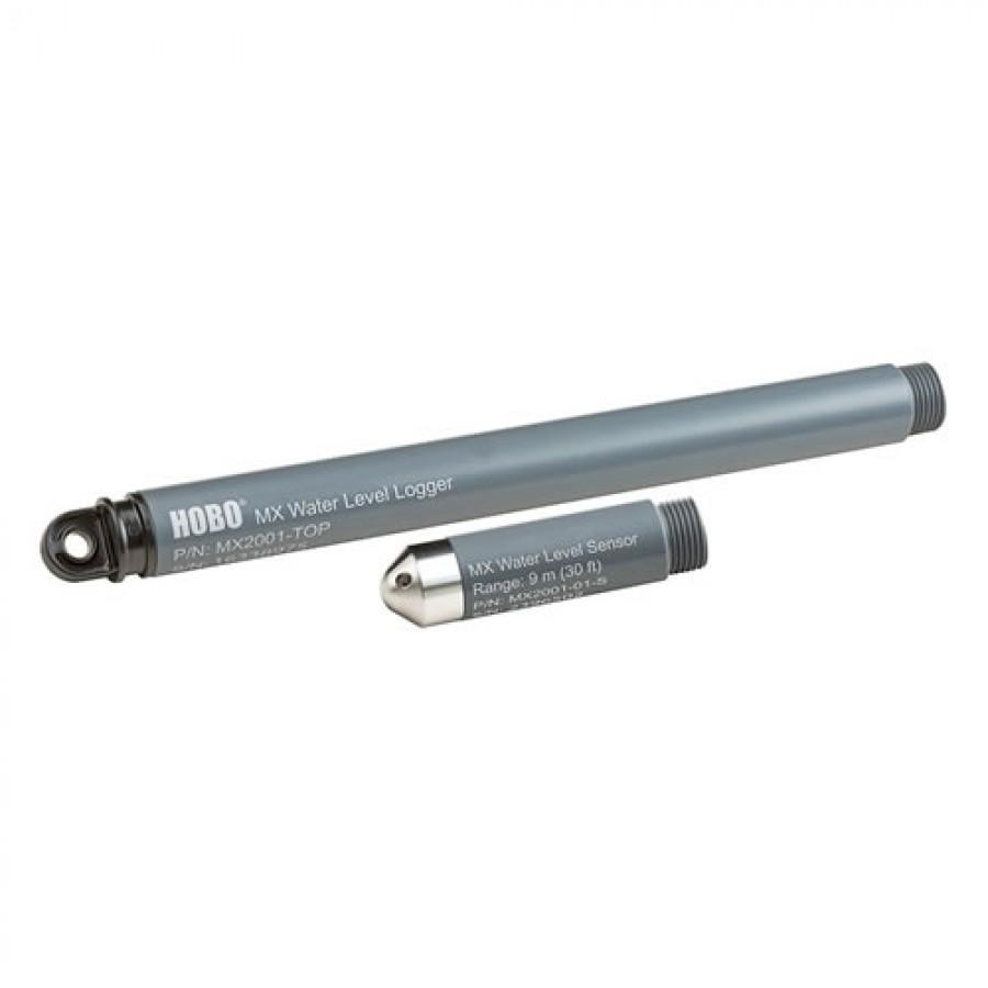 Onset MX2001-01 HOBO Stainless Steel Bluetooth Freshwater Water Level Data Logger/9m Sensor Set
