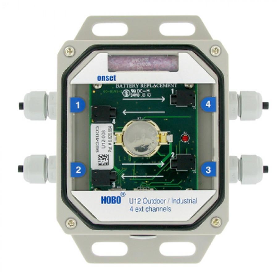 Onset U12-008 HOBO 4-Channel External Data Logger