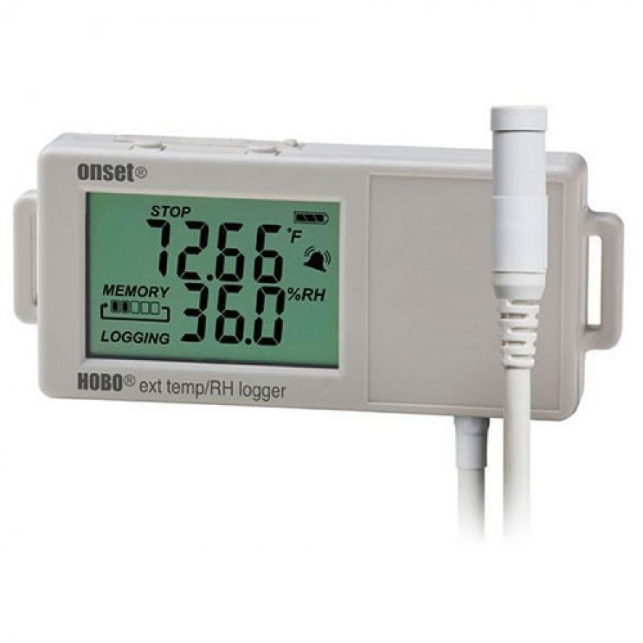 Onset UX100-023 HOBO External Temperature/Relative Humidity (RH) Data Logger