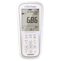 Horiba LAQUAact D-74 Multiparameter pH/ORP/Conductivity/Salinity/Resistivity/TDS Meter with Printer Output Capability