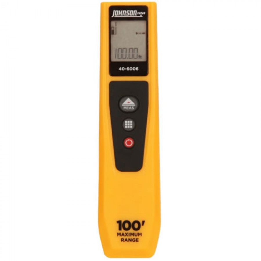 Johnson 40-6006 Laser Distance Meter, 30m