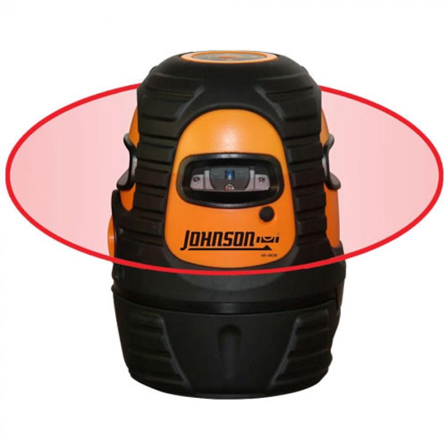 Johnson 40-6636 Self-Leveling 360 Degree Line Laser