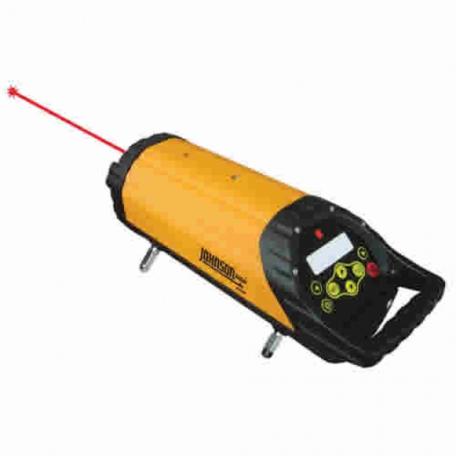 Johnson 40-6690 Electronic Self-Leveling Pipe Laser