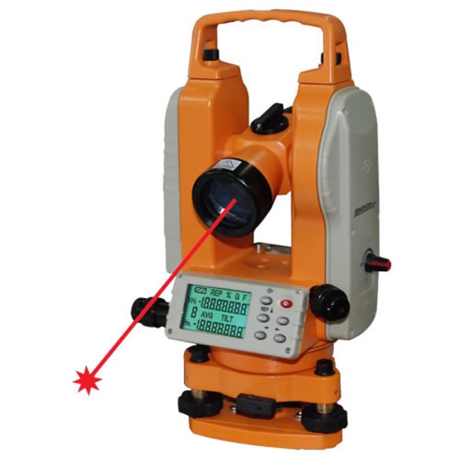 Johnson 40-6936 5-Second Digital Theodolite with Laser