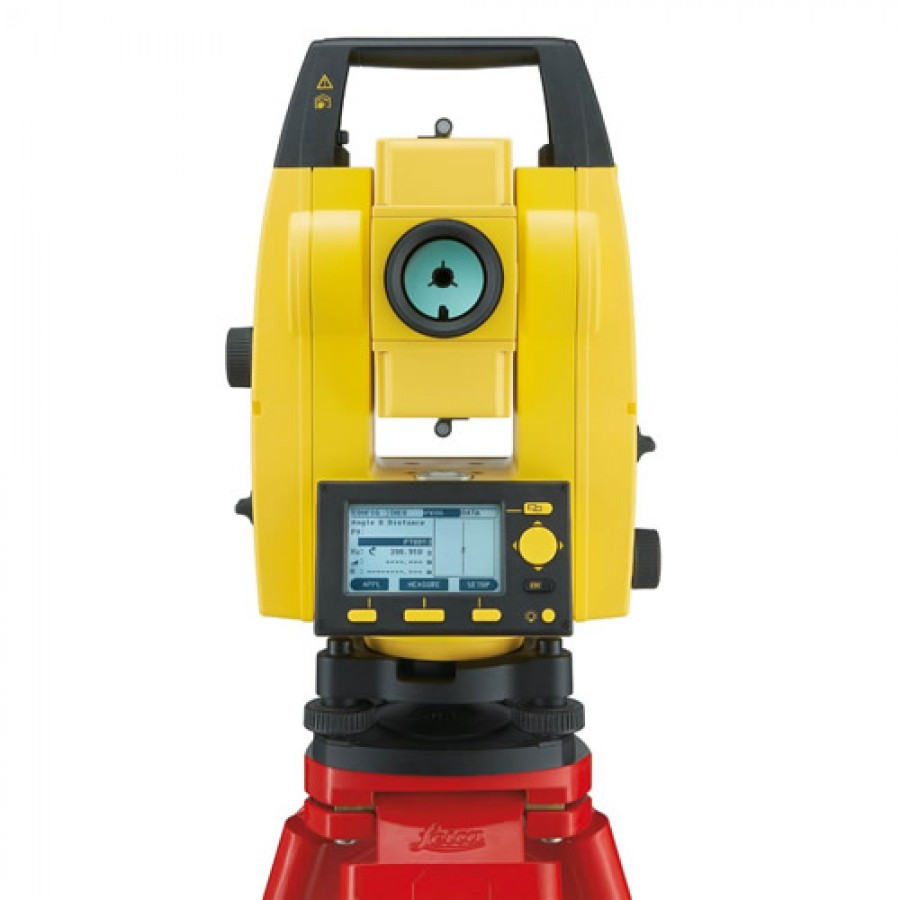 Leica Builder 206 6 Second Reflectorless Total Station Set
