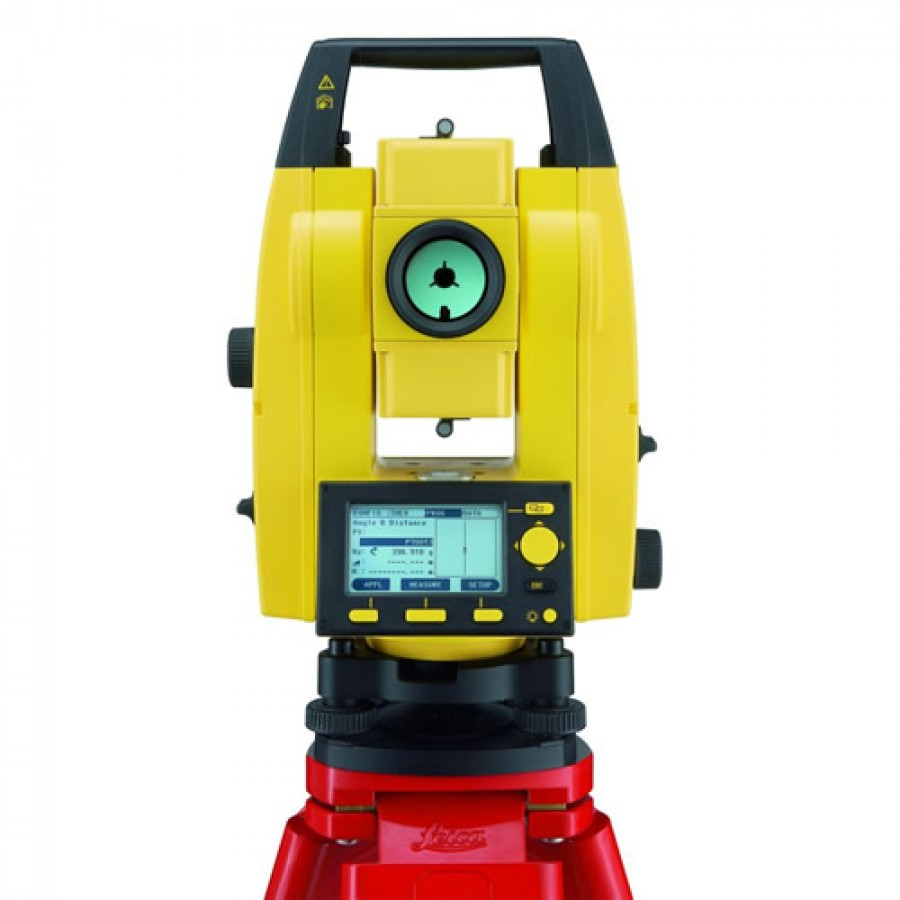 Leica Builder 306 6 Second Reflectorless Total Station Set
