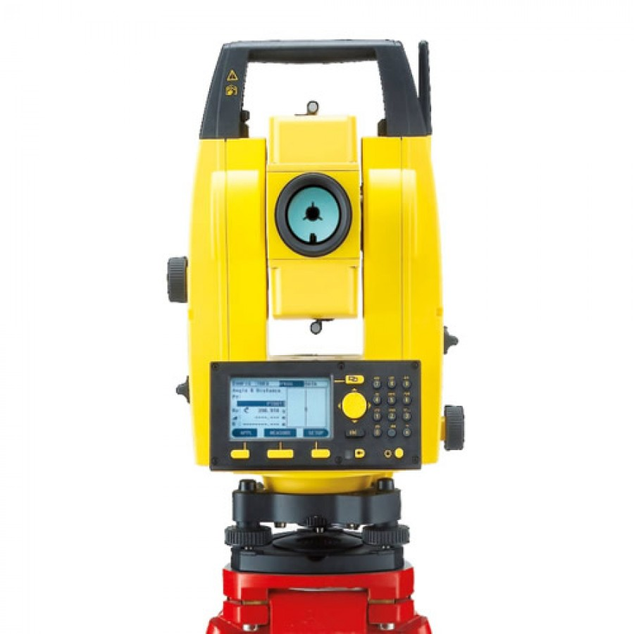 Leica Builder 503 3 Second Reflectorless Total Station Set