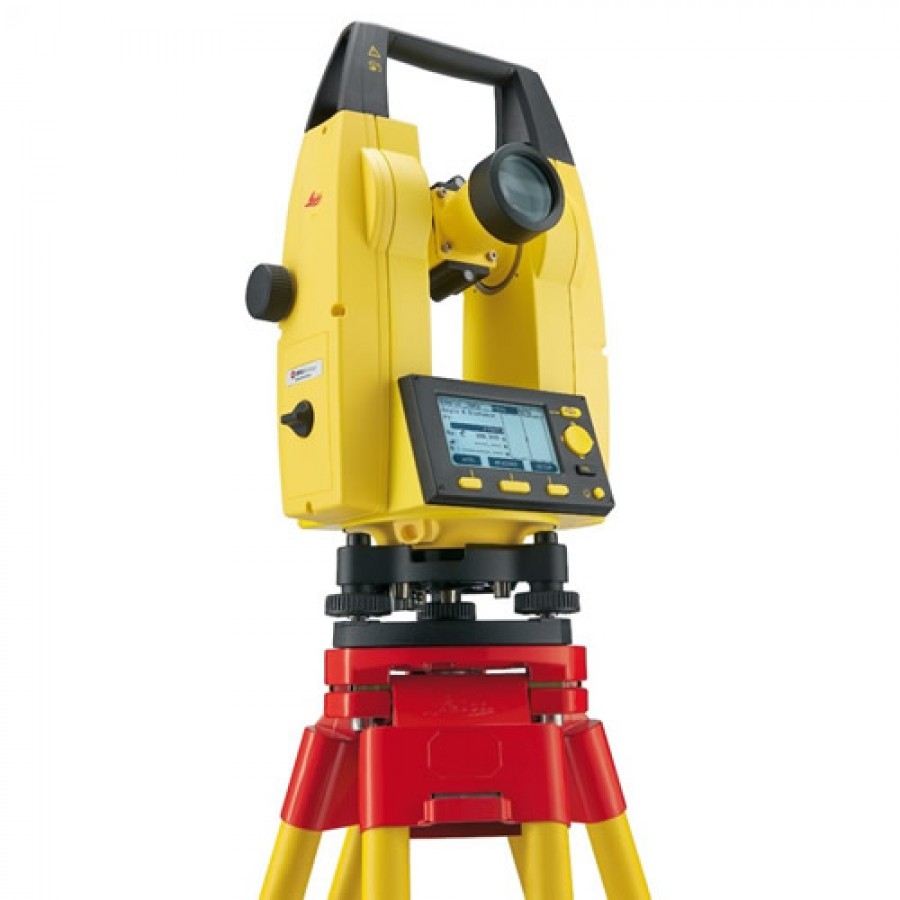 "Leica Builder T106 6"" Construction Theodolite with Laser Plummet"