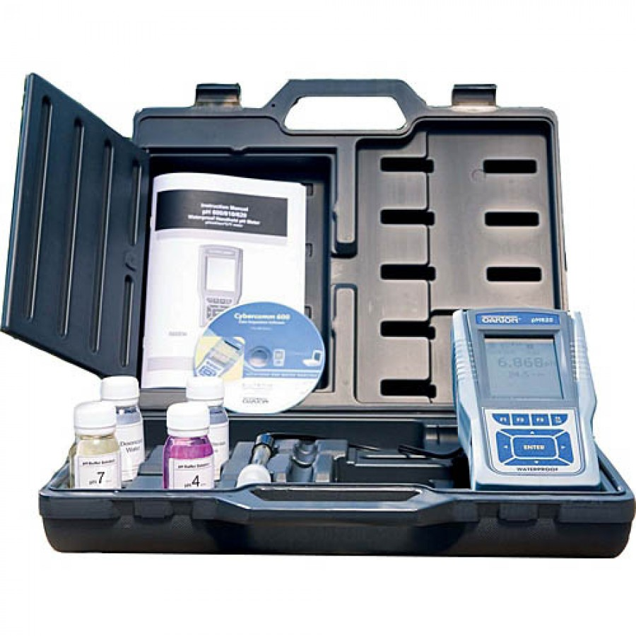 Oakton WD-35408-81 Eutech CyberScan COND 610 Conductivity/TDS/Salinity/Resistivity Meter Kit with NIST