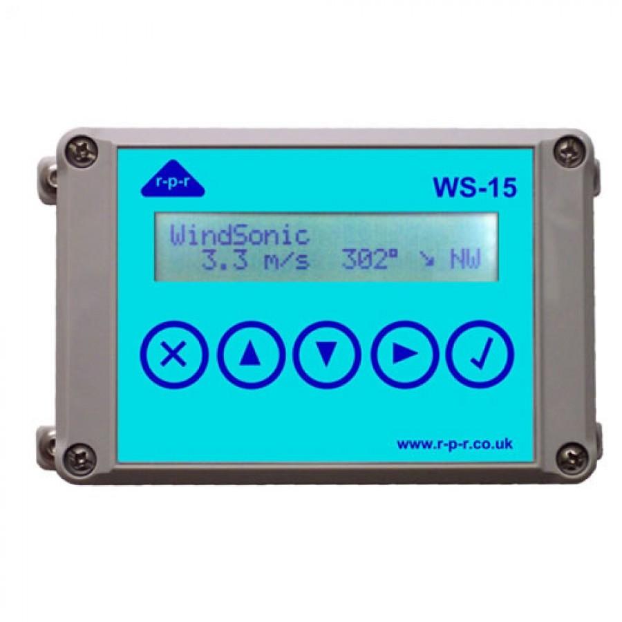 R-P-R WS15A Wind Speed Indicator & Wind Displays