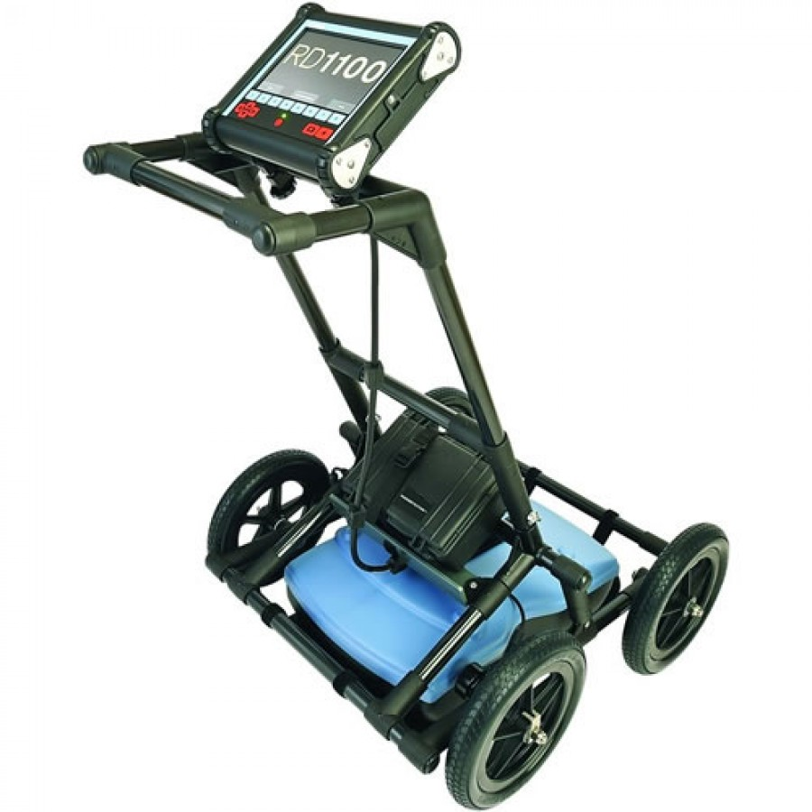 SPX Radiodetection RD1100 Ground Penetrating Radar (GPR) with Internal GPS