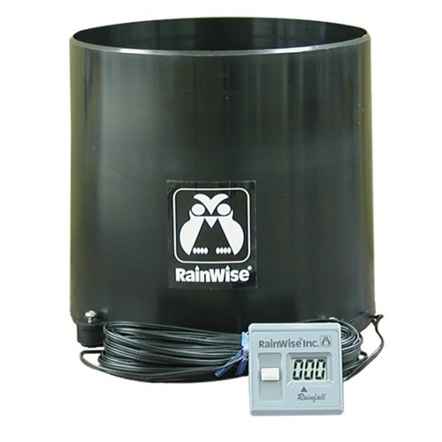 RainWise Rainew™  111 Electronic Recording Rain Gauge, Wired with 60' of Cable