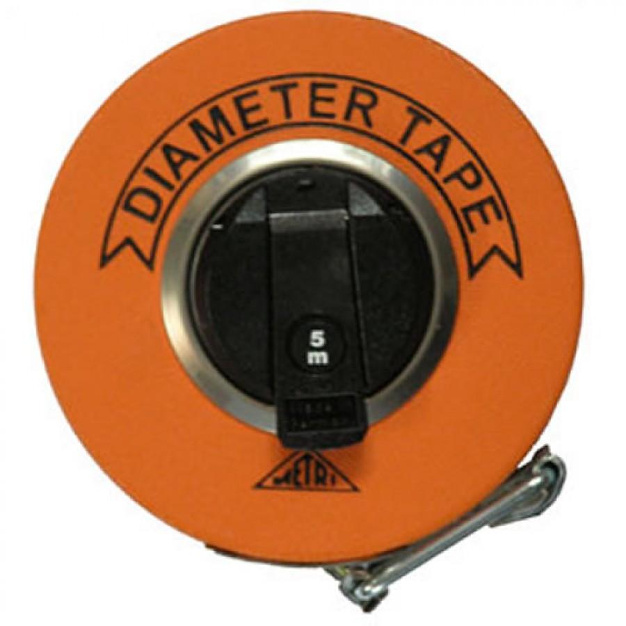 Richter 283D/10M Woven Fibreglass Diameter Tape, 10m