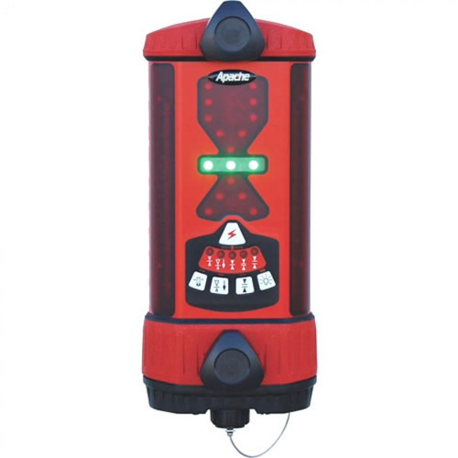 Seco ATI991370-02 Apache Bullseye 5+ Machine Control Laser Receiver with Alkaline Battery - Red